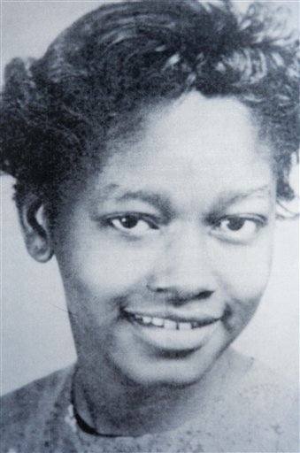 Claudette Colvin at age 15. This undated file photo was taken around the year 1953. Courtesy of AP/Farrar, Straus and Giroux.