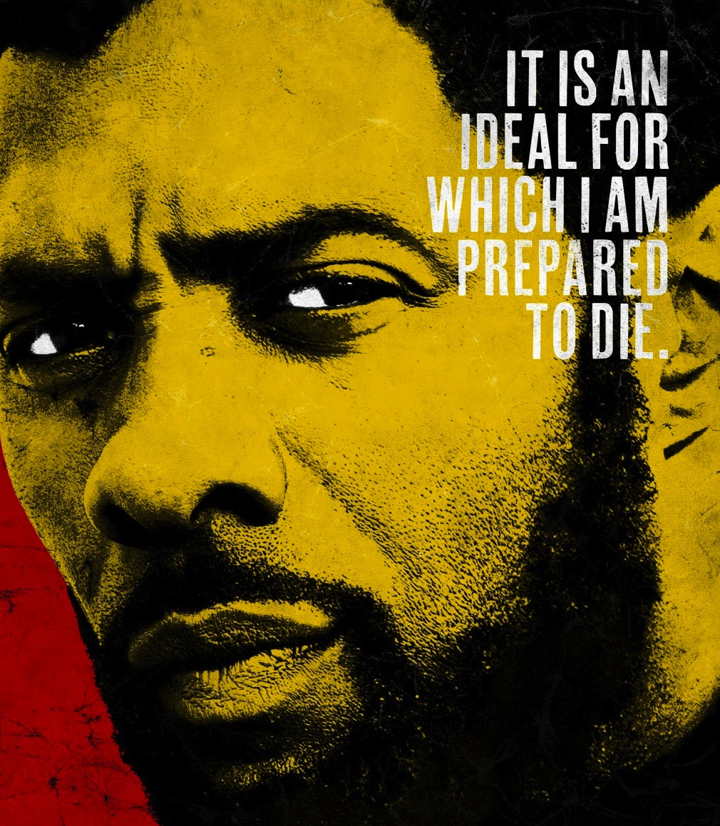 Idris Elba as Nelson Mandela. Courtesy Videovision Entertainment.