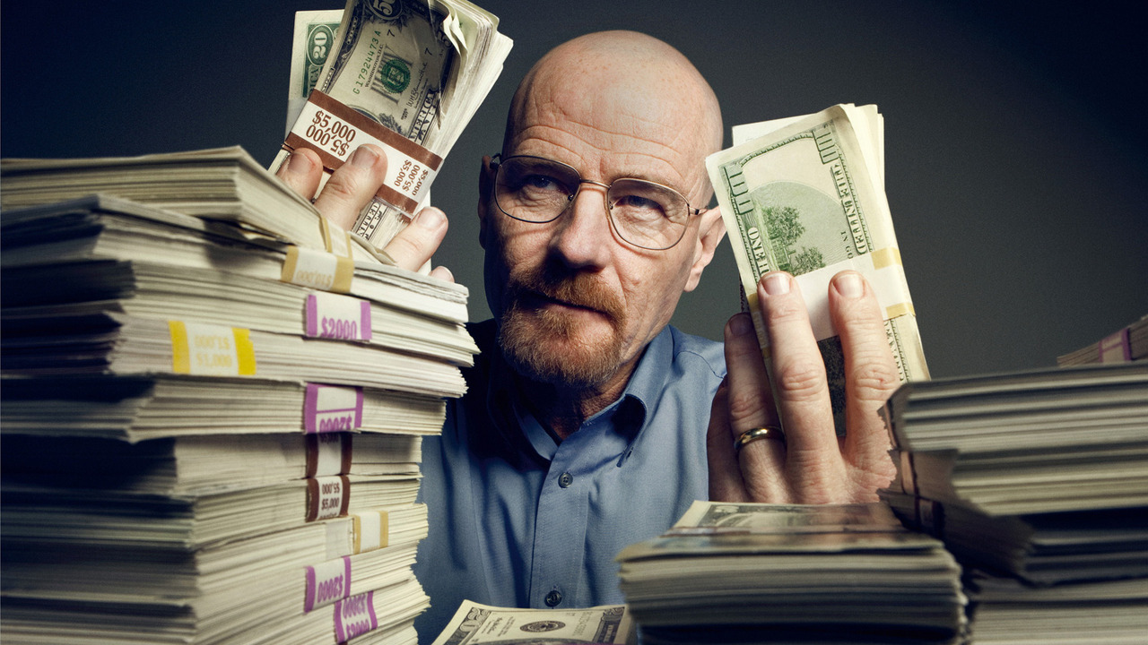 Bryan Cranston as Walter White from a GQ photoshoot. Image courtesy of GQ.com