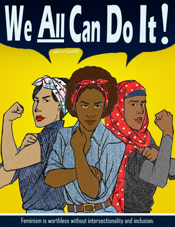 """We ALL Can Do It,"" by soirart."