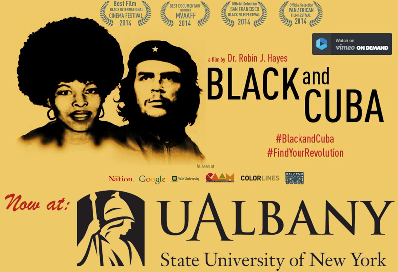 Black and Cuba and UAlbany